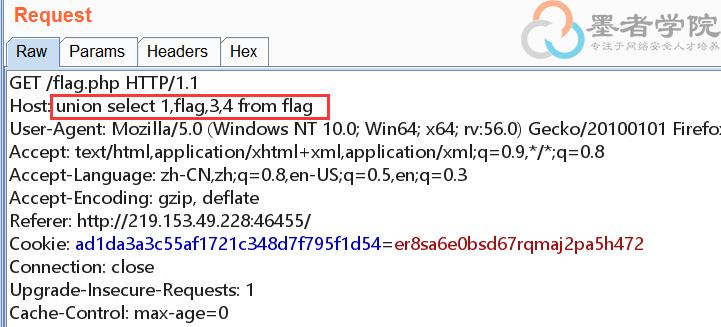 SQL注入之HTTP头注入–【SQL注入专题】
